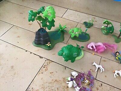 Playmobil 5444 Feeninsel Ersatzteil Zubehör Baumzeug Hellgrün Pflanze Paket 43