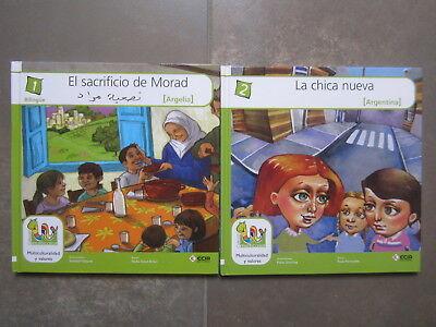Coleccion 18 Libros Multicolor Cuentos Del Mundo Editorial Ecir. Bilingues 2