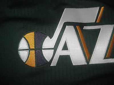 promo code c25d1 6a330 NEW ADIDAS UTAH Jazz Pro Cut Nba Jersey Blank Green Authentic Size 2Xl +2  Xxl 2X