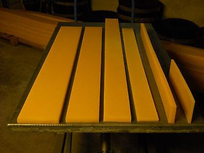 Schürfleiste PUR Polyurethan PU Schneeschild Schneeräumleiste 1500 x 200 x 30 mm