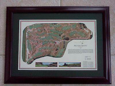 2abe2aef432 OAK HILLS - Vintage Golf Course Maps print (30