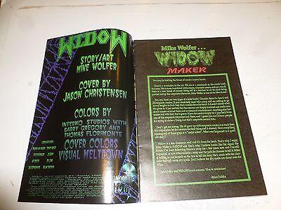 WIDOW Comic - Metal Gypsies - No 1 - Date 1995 - London NIght Comics 2