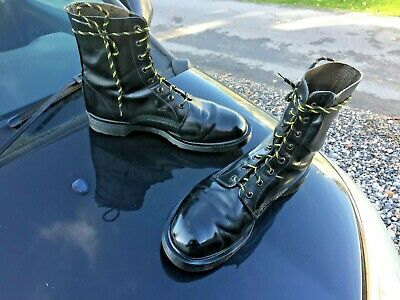 Dr Martens 1460 black leather boots UK 10 EU 45 Made in England 2