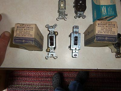 Large Lot of Vintage Electrical 5 Pieces NOS in Original Boxes