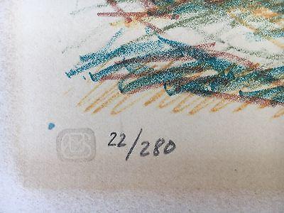 Ernst Syberg 1906-1981 Windiger Tag An Der Küste - Lithografie 1970 5