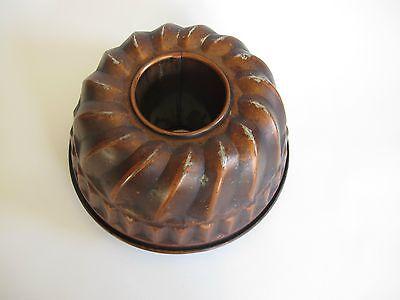 Edle ältere Kugelhupf Kupfer Backform 4