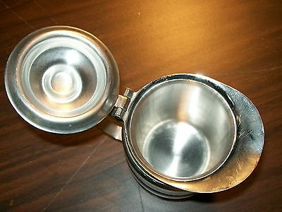 Legion Utensils Stainless Steel Pitcher/Cream Pat'd 1/6/51 Americana NY 2