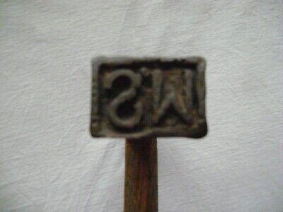 altes Försterbeil / Holz Beschlag Beil, altes Werkzeug 5