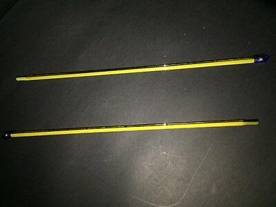 Thermometer Glass Celsius, Yellow Backed, 300 MM, NON MERCURY VARIOUS RANGES 3