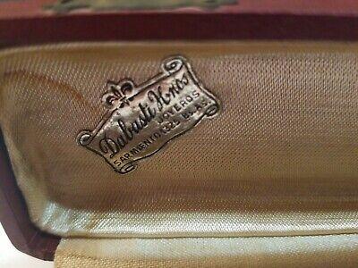 "Rare Vintage Detailed Cigarette Holder 1800,s 8"" Dabusti Knos Joyeros With Case 3"
