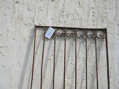 Antique Victorian Iron Gate Window Garden Fence Architectural Salvage Door #343 2
