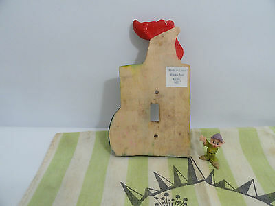 Collectible Trunk Find Kellogg's Rosters, Old Wooden Flag of Texas  Cannon Linen 7