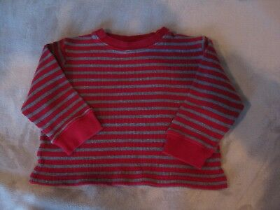 Adorable Boys' Gymboree Red Long-Sleeved Waffle Knit Shirt - Size 3 - Must see! 2