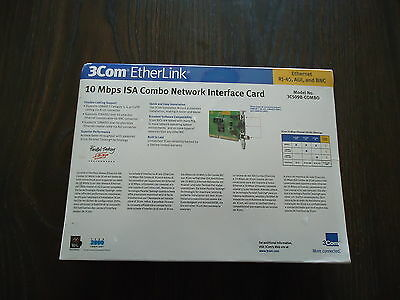 New  Electroglas Network Card #012065-026 By 3 Com Etherlink 3C509B-Combo 2