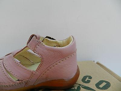MOD8 Ekoko Sandales Chaussures Fille 20 Ballerines Rose Babies UK4 Child Neuf 7