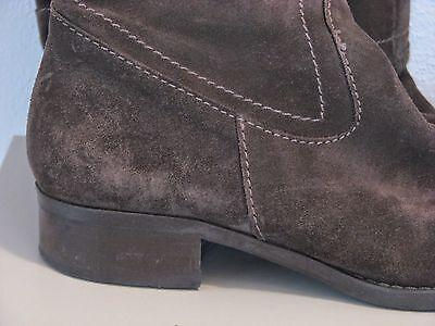 eecd382de3 STIVALI DONNA-N°37 PELLE SCAMOSCIATA- -marca BATA-COL.PETROLIO-made in Italy