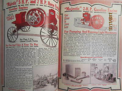 1916 Hartman Co Majestic Gas Engine Catalog All sizes, hit miss, mags, pumps 5