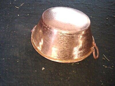Mexican Pure Copper Pot for Carnitas Cazo. (11 x 5 in) 3