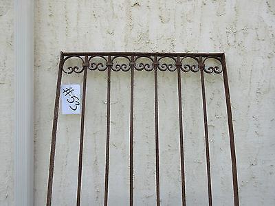 Antique Victorian Iron Gate Window Garden Fence Architectural Salvage Door #53 2