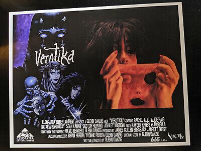 VEROTIKA - Throwback 70's Style LOBBY CARDS LTD Edition 1-666 Danzig Horror 6
