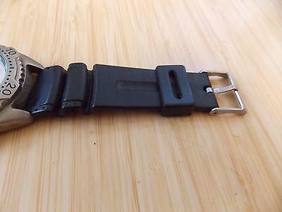 Zanwatch Protime Quartz Mens Stainless Steel Back Wrist Watch 6