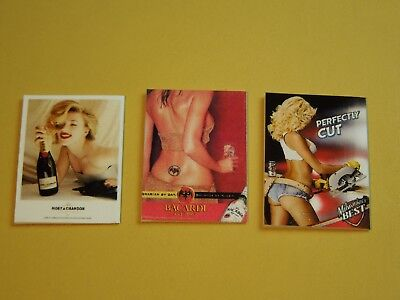 "Dollhouse Miniature 1"" 1/12 Scale Playboy Magazines Pack #1 - set of 3 3"