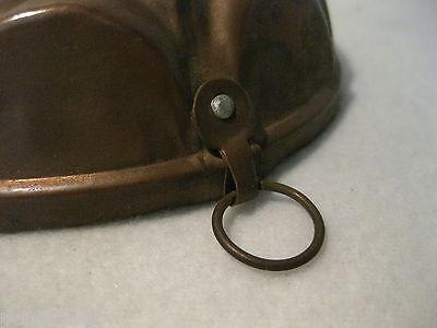 ++  ältere runde kleinere  Kupfer Backform -  D= 12,5 cm  ++ Hhj 3