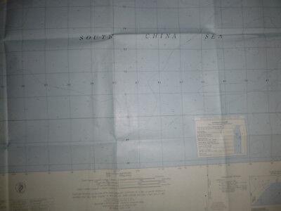 6429 i N - MAP - Phuoc Tuy Province - South China Sea - Xuyen Moc - Vietnam War