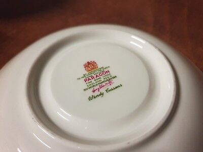 "Paragon China Tea trio  ""Six World Famous Roses"" Oriana 4"