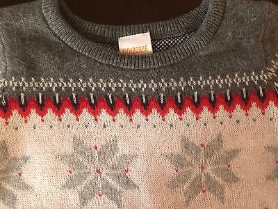 NWT Gymboree Girl North Pole Party Christmas Grey Sweater Dress 4 6 7 8 10