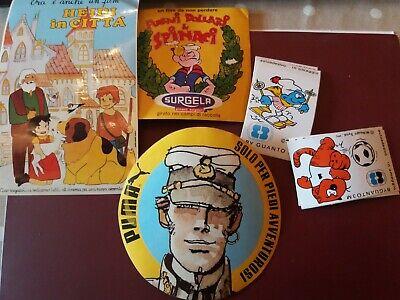 Old Sticker Vintage LADY OSCAR corriere piccoli f cm 9x9 ADESIVO anni /'80