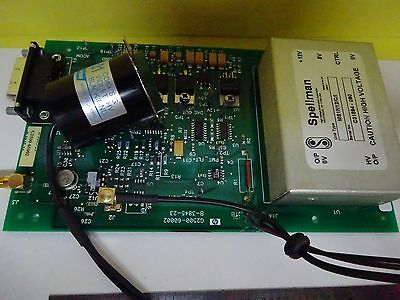Nice High Voltage Laser Power Supply Or Photomultiplier Spellman As Is Bin#W4-54 6