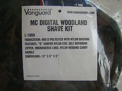 02d68883e232 ... Usmc Marine Corps Woodland Marpat Camo Camouflage Waterproof Dopp  Shaving Kit + 2