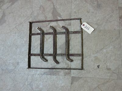 Antique Victorian Iron Gate Window Garden Fence Architectural Salvage Door #212 3