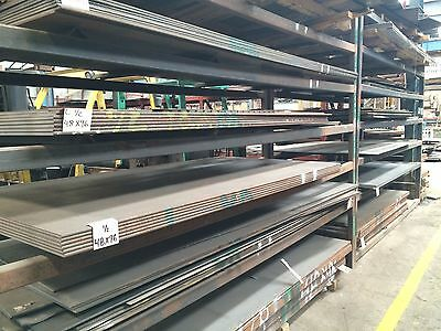 """1//2/"""" thick x 4/"""" wide x 12/"""" long steel plate a36 .500"""