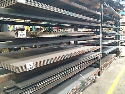 """3/16"""" .188 HRO Steel Sheet Plate 12"""" x 12"""" Flat Bar A36 4"""