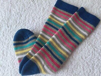 Girls High Quality Warm Cosy Cushion Ski Hiking Riding Welly Thermal Boot Socks 2