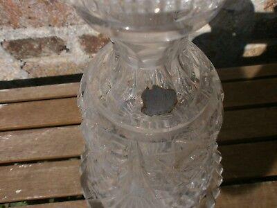 carafe en  cristal de boheme 6
