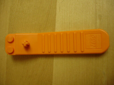 Lego Brick And Axle Tool Separator x 2 Orange and Dark Turquoise New