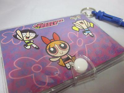 Powerpuff Girls Wallet Size Mini Photo Album Nos Blue Clip Keychain
