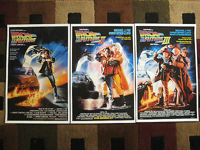 """Back to the Future ( 11"""" X 17"""" ) Movie Collector's Poster Prints ( Set of 3 ) 2"""