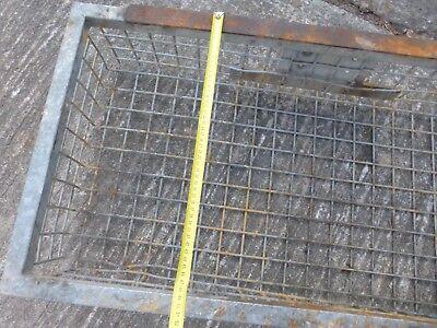 alter Korb für Aufbewahrung Anhänger Kiste ca 20 kg schwer LOFT 🌼 HANDWAGEN 🌼 9