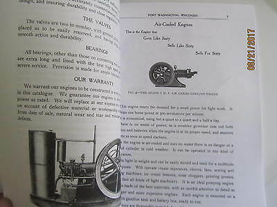 Gilson Manufacturing Co Gas Engine Information Type Catalog Manual 2