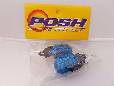 Blue Hand Grenade 2pkt POSH Bicycle//Motorbike//Car Tyre caps