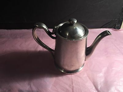 IS international silver co silver soldered Silver Vintage Teapot 2