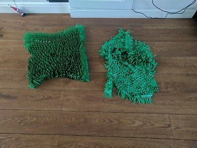 Tissue Paper Grass Mat for cat or kitten toy UK FAST DELIVERY pet toys. 5