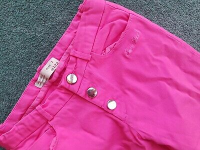 Girls Zara Skinny Cord Trousers Pink Age 7 Years 2