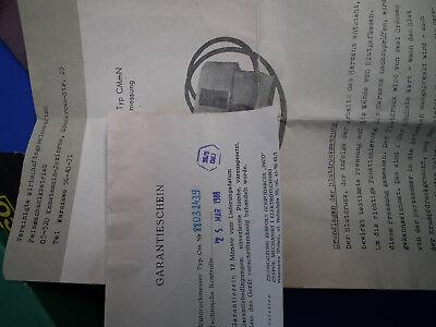 alter Ärztlicher Blutdruckmesser DDR damals Importware aus Polen in OVP Vintage 6
