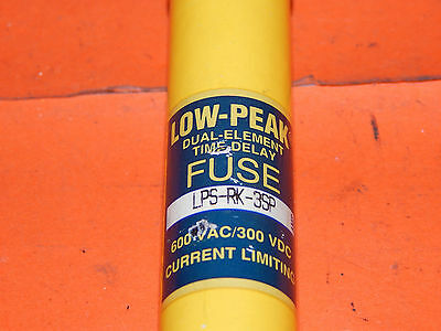 Lot of 3 Bussmann Low-Peak LPS-RK-3SP Fuse Time Delay 3Amp LPSRK3SP