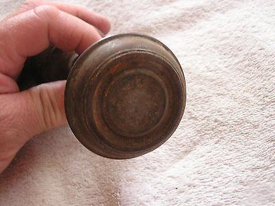 Antique Set 2 Spartan Metal Door Knobs 2